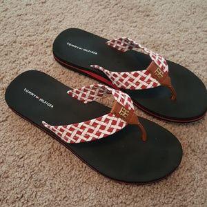Tommy Hilfiger black sandals